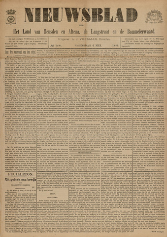 Nieuwsblad het land van Heusden en Altena de Langstraat en de Bommelerwaard 1896-05-06