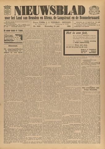 Nieuwsblad het land van Heusden en Altena de Langstraat en de Bommelerwaard 1934-07-11