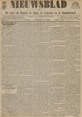 Nieuwsblad het land van Heusden en Altena de Langstraat en de Bommelerwaard 1902-04-26