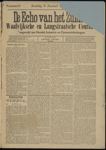 Echo van het Zuiden 1889-01-06