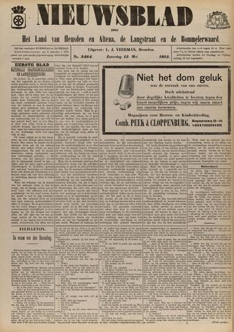 Nieuwsblad het land van Heusden en Altena de Langstraat en de Bommelerwaard 1915-05-15