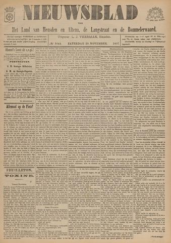 Nieuwsblad het land van Heusden en Altena de Langstraat en de Bommelerwaard 1897-11-20