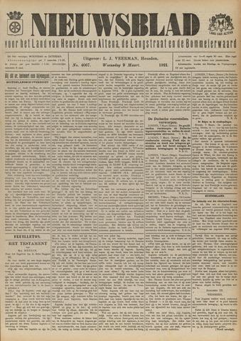 Nieuwsblad het land van Heusden en Altena de Langstraat en de Bommelerwaard 1921-03-09