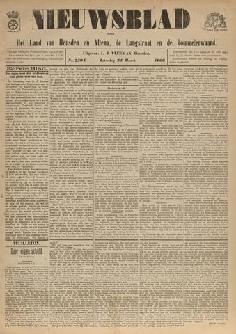 Nieuwsblad het land van Heusden en Altena de Langstraat en de Bommelerwaard 1906-03-24
