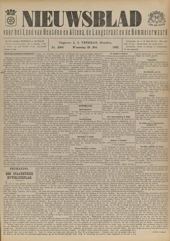 Nieuwsblad het land van Heusden en Altena de Langstraat en de Bommelerwaard 1921-05-25
