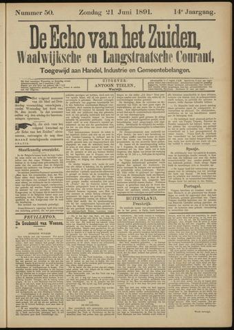 Echo van het Zuiden 1891-06-21