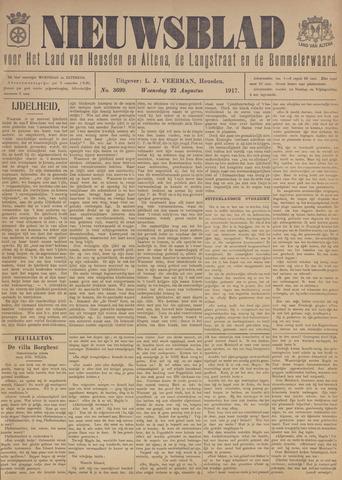 Nieuwsblad het land van Heusden en Altena de Langstraat en de Bommelerwaard 1917-08-22