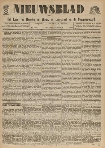 Nieuwsblad het land van Heusden en Altena de Langstraat en de Bommelerwaard 1902-10-29