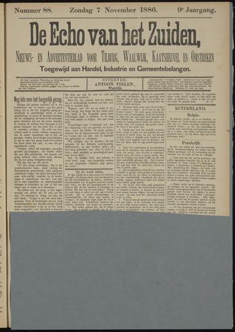 Echo van het Zuiden 1886-11-07