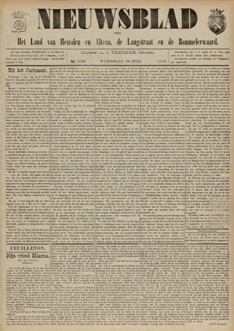 Nieuwsblad het land van Heusden en Altena de Langstraat en de Bommelerwaard 1892-07-20