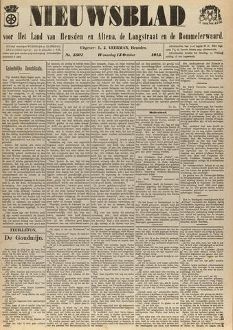 Nieuwsblad het land van Heusden en Altena de Langstraat en de Bommelerwaard 1915-10-13