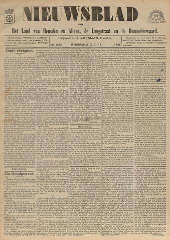 Nieuwsblad het land van Heusden en Altena de Langstraat en de Bommelerwaard 1903-06-17