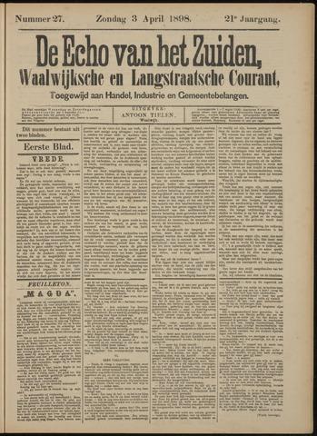 Echo van het Zuiden 1898-04-03