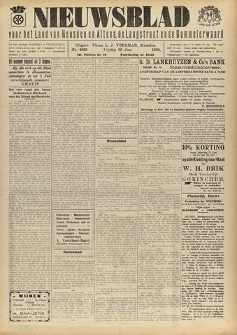 Nieuwsblad het land van Heusden en Altena de Langstraat en de Bommelerwaard 1928-06-22