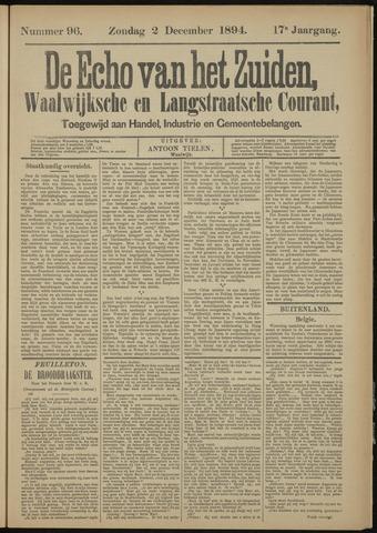 Echo van het Zuiden 1894-12-02