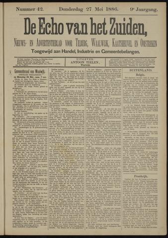 Echo van het Zuiden 1886-05-27
