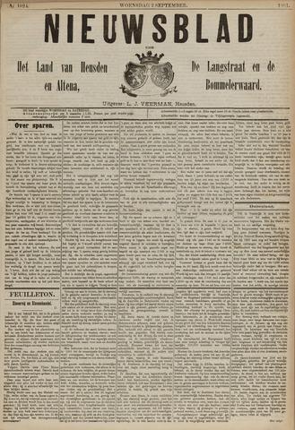 Nieuwsblad het land van Heusden en Altena de Langstraat en de Bommelerwaard 1891-09-02