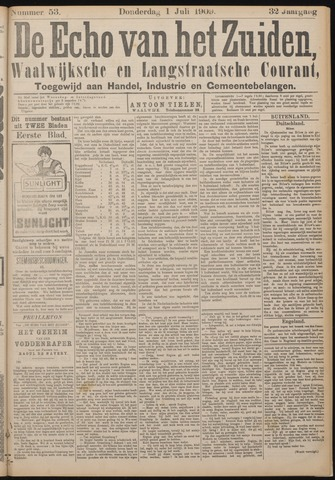 Echo van het Zuiden 1909-07-01