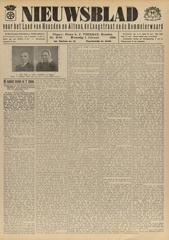 Nieuwsblad het land van Heusden en Altena de Langstraat en de Bommelerwaard 1928-02-01
