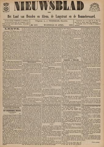 Nieuwsblad het land van Heusden en Altena de Langstraat en de Bommelerwaard 1900-04-25
