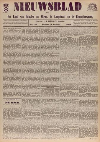 Nieuwsblad het land van Heusden en Altena de Langstraat en de Bommelerwaard 1908-11-28