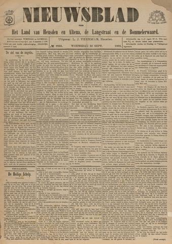 Nieuwsblad het land van Heusden en Altena de Langstraat en de Bommelerwaard 1903-09-30