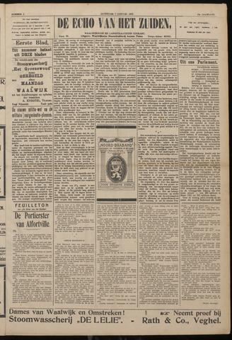 Echo van het Zuiden 1922-01-07