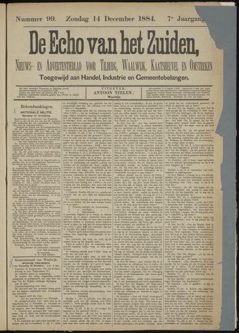 Echo van het Zuiden 1884-12-14