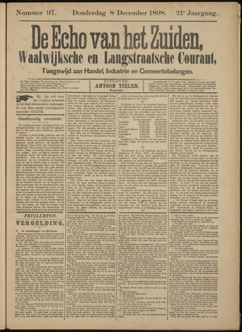 Echo van het Zuiden 1898-12-08
