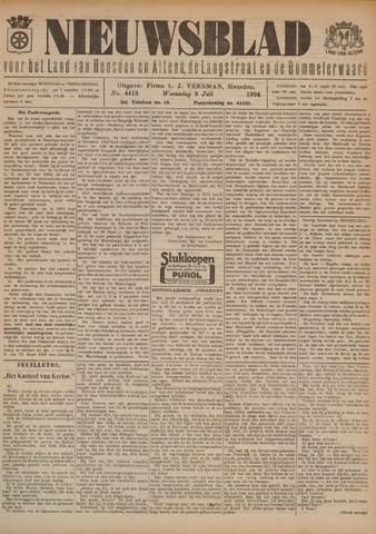 Nieuwsblad het land van Heusden en Altena de Langstraat en de Bommelerwaard 1924-07-09