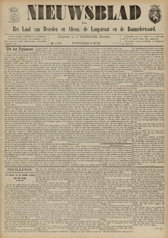 Nieuwsblad het land van Heusden en Altena de Langstraat en de Bommelerwaard 1892-07-06