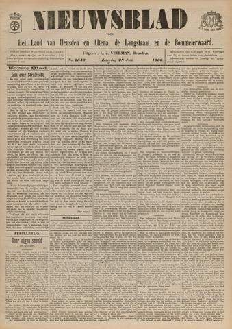 Nieuwsblad het land van Heusden en Altena de Langstraat en de Bommelerwaard 1906-07-28