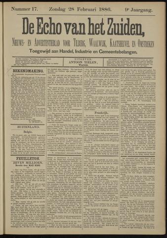 Echo van het Zuiden 1886-02-28