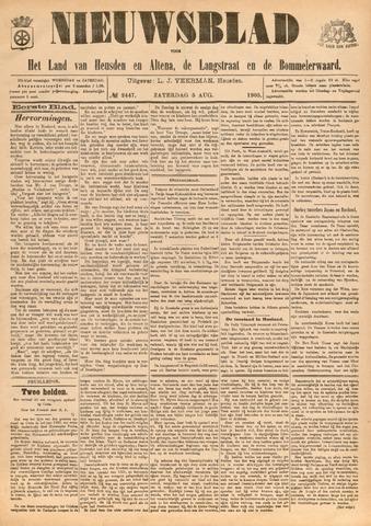 Nieuwsblad het land van Heusden en Altena de Langstraat en de Bommelerwaard 1905-08-05