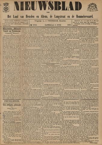 Nieuwsblad het land van Heusden en Altena de Langstraat en de Bommelerwaard 1901-06-01