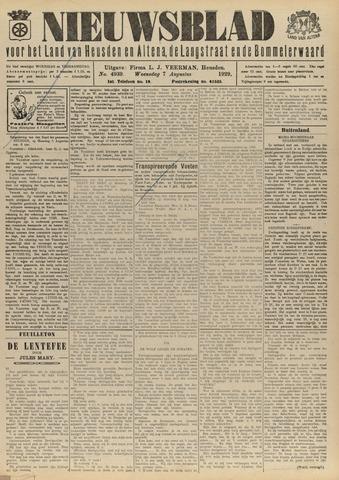 Nieuwsblad het land van Heusden en Altena de Langstraat en de Bommelerwaard 1929-08-07