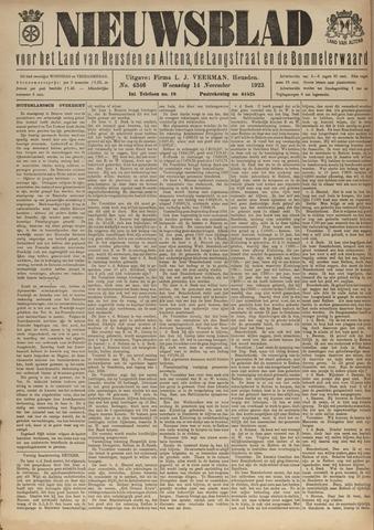 Nieuwsblad het land van Heusden en Altena de Langstraat en de Bommelerwaard 1923-11-14