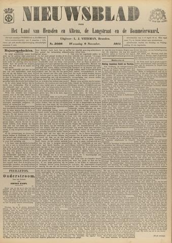 Nieuwsblad het land van Heusden en Altena de Langstraat en de Bommelerwaard 1911-11-08