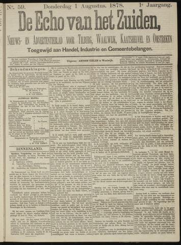 Echo van het Zuiden 1878-08-01