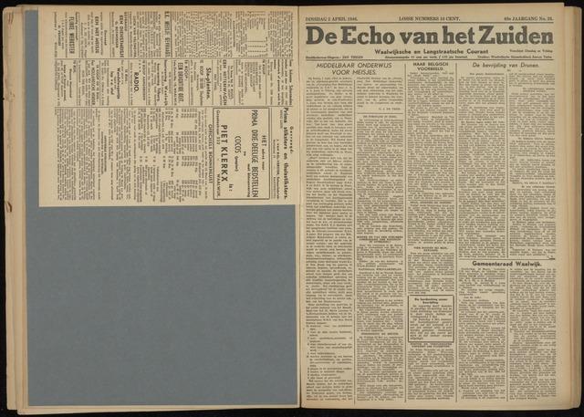 Echo van het Zuiden 1946-04-02