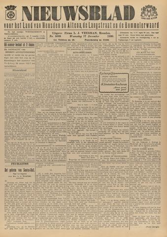 Nieuwsblad het land van Heusden en Altena de Langstraat en de Bommelerwaard 1930-12-17