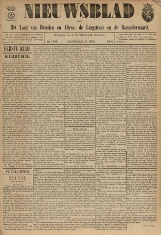 Nieuwsblad het land van Heusden en Altena de Langstraat en de Bommelerwaard 1894-12-22
