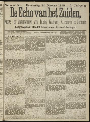 Echo van het Zuiden 1878-10-24