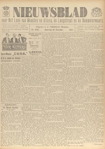 Nieuwsblad het land van Heusden en Altena de Langstraat en de Bommelerwaard 1917-12-22