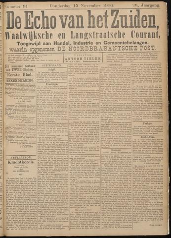 Echo van het Zuiden 1906-11-15