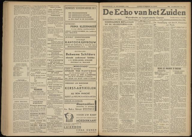 Echo van het Zuiden 1946-12-19