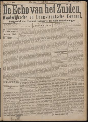 Echo van het Zuiden 1905-10-08