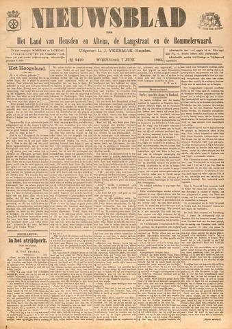 Nieuwsblad het land van Heusden en Altena de Langstraat en de Bommelerwaard 1905-06-07