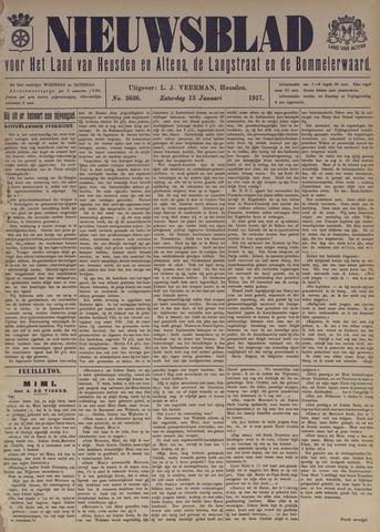 Nieuwsblad het land van Heusden en Altena de Langstraat en de Bommelerwaard 1917-01-13