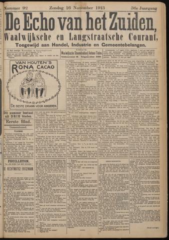Echo van het Zuiden 1913-11-16